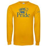 Gold Long Sleeve T Shirt-Pride