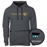 Contemporary Sofspun Charcoal Heather Hoodie-Widener Pride Flat
