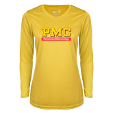 Ladies Syntrel Performance Gold Longsleeve Shirt-PMC
