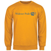 Gold Fleece Crew-Widener Pride Flat