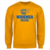 Gold Fleece Crew-Widener Pride Mom