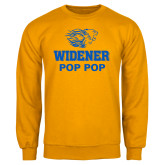 Gold Fleece Crew-Widener Pride Pop Pop