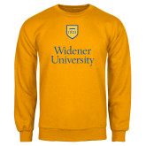 Gold Fleece Crew-Stacked University Mark