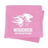 Pink Sweatshirt Blanket-Widener Athletics