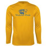Performance Gold Longsleeve Shirt-Widener Pride