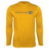 Syntrel Performance Gold Longsleeve Shirt-Widener Pride Flat