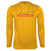 Syntrel Performance Gold Longsleeve Shirt-PMC
