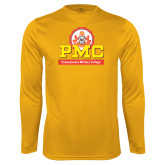 Syntrel Performance Gold Longsleeve Shirt-PMC Stacked