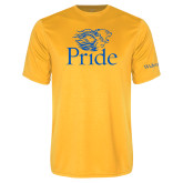 Syntrel Performance Gold Tee-Pride