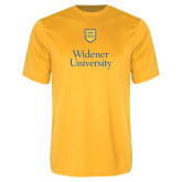 Syntrel Performance Gold Tee-Stacked University Mark