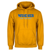 Gold Fleece Hoodie-Ice Hockey