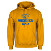 Gold Fleece Hoodie-Widener Pride Dad