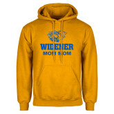 Gold Fleece Hoodie-Widener Pride Mom Mom