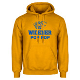 Gold Fleece Hoodie-Widener Pride Pop Pop