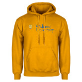 Gold Fleece Hoodie-Primary Mark with Shield