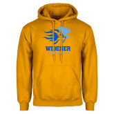 Gold Fleece Hoodie-Widener Athletics