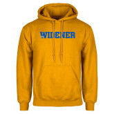 Gold Fleece Hoodie-Widener Wordmark