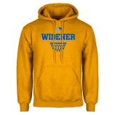 Gold Fleece Hoodie-Basketball Design