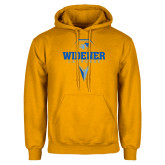 Gold Fleece Hoodie-Lacrosse Design