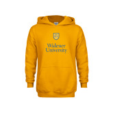 Youth Gold Fleece Hoodie-Stacked University Mark