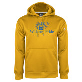 Under Armour Gold Performance Sweats Team Hoodie-Widener Pride