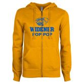 ENZA Ladies Gold Fleece Full Zip Hoodie-Widener Pride Pop Pop