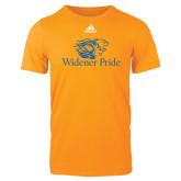 Adidas Gold Logo T Shirt-Widener Pride