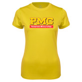 Ladies Syntrel Performance Gold Tee-PMC