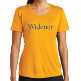 Ladies Syntrel Performance Gold Tee-Widener