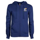 ENZA Ladies Royal Fleece Full Zip Hoodie-Widener Athletics