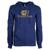 ENZA Ladies Royal Fleece Full Zip Hoodie-Widener Pride