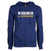 ENZA Ladies Royal Fleece Full Zip Hoodie-Lacrosse