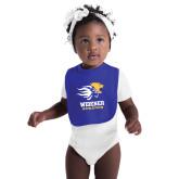 Royal Baby Bib-Widener Athletics