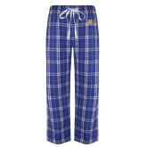 Royal/White Flannel Pajama Pant-Widener Pride