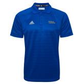 Adidas Climalite Royal Jacquard Select Polo-Primary Mark