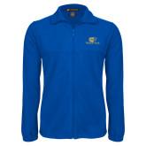 Fleece Full Zip Royal Jacket-Widener Pride