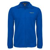 Fleece Full Zip Royal Jacket-Widener