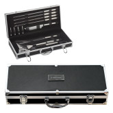 Grill Master Set-Primary Mark with Shield Flat Engraved