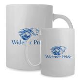 Full Color White Mug 15oz-Widener Pride