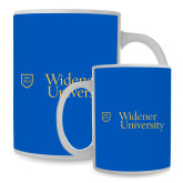 Full Color White Mug 15oz-Primary Mark with Shield
