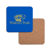 Hardboard Coaster w/Cork Backing-Widener Pride