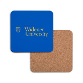Hardboard Coaster w/Cork Backing-Primary Mark with Shield