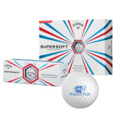 Callaway Supersoft Golf Balls 12/pkg-Widener Pride