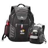 High Sierra Big Wig Black Compu Backpack-Widener Athletics