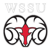 Extra Large Decal-WSSU Ram, 18 inches wide