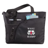 Excel Black Sport Utility Tote-Stacked WSSU Rams