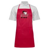 Full Length Red Apron-WSSU Rams