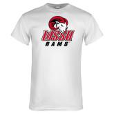 White T Shirt-WSSU Rams