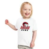 Toddler White T Shirt-WSSU Rams