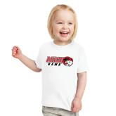 Toddler White T Shirt-WSSU Rams Horizontal